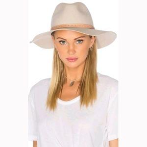 RAG & BONE Wide Brim Fedora Hat, 100% Wool